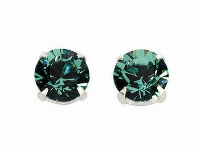 Erinite Large Crystal Stud Earrings