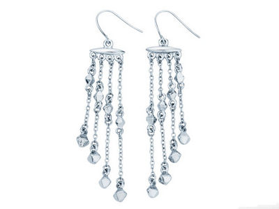 Fiorelli Bead Chain Drop Earrings