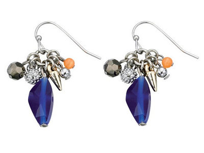Fiorelli Midnight Blue Drop Earrings