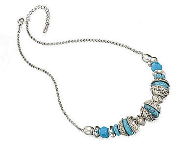 Fiorelli Turquoise Multi Bead Necklace