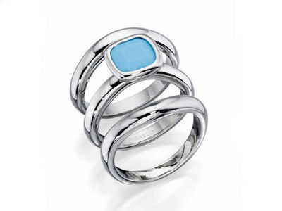 Fiorelli Turquoise Stacking Ring Set