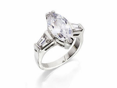 Fiorelli Marquise Crystal Ring