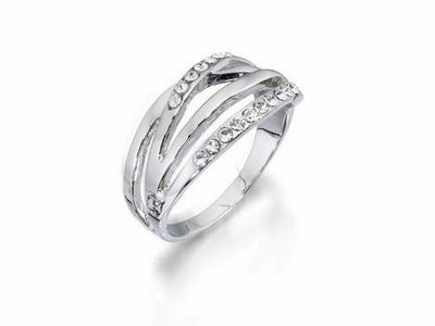 Fiorelli Crystal Band Ring