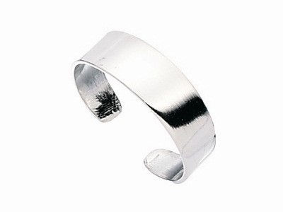 Sterling Silver Band Toe Ring