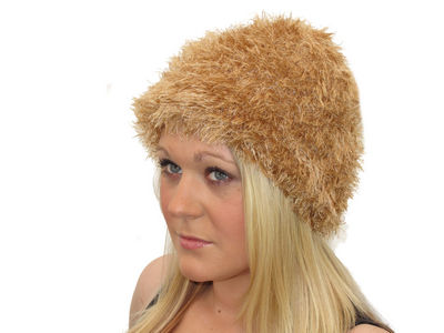 Winter Super Soft Light Brown Magical Hat