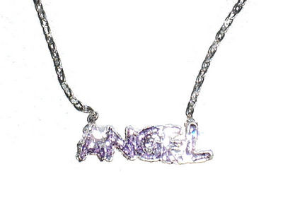 Angel Pendant - Purple