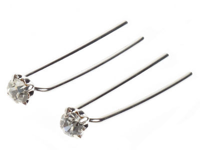 Pair of Crystal Hair Pins
