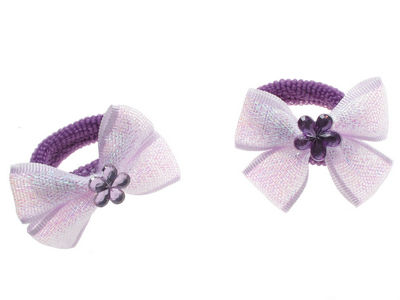Purple Shimmer Bow Ponios