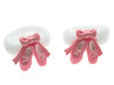 White Ballet Slipper Ponios
