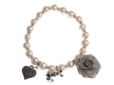 Ivory Single Pearl Bracelet