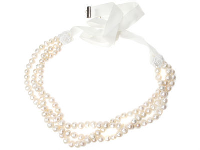 Ivory Freshwater Pearl Necklace