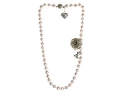 Ivory Pearl Single Strand Necklace