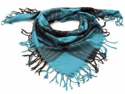 Teal Olivia Dollar Fashion Scarf