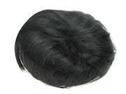 Black Artificial Hair Bun