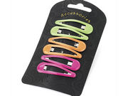 Neon Sleepie Snap Hair Clips