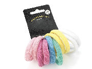 10 Pastel Soft Endless Hair Bobbles