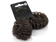 Dark Brown Hair Effect Ponio Endless Hair Bobbles