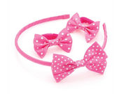 Girls Candy Pink Spot Ponio Donuts and Headband