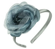 Silver Rose Alice Band