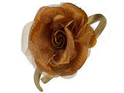 Dark Gold Rose Alice Band