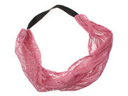 Pink Lace Headwrap