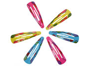 Bright Patterned Hair Clip Bendies