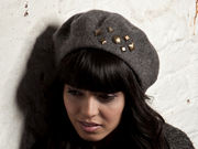 Chatham Beret - Charcoal Grey