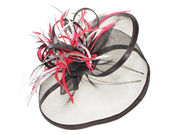 Black Crinoline Fascinator Band