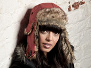 Heather Trapper Hat - Tuscan Red