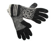 Super Soft Angora Mix Holly Gloves - Black