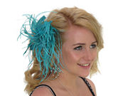 Jade Star Flower Fascinator