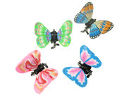 Green/Blue Fimo Butterfly Mini Hair Clamp Clips