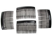 7cm Black Side Hair Combs
