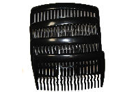 8cm Black Side Hair Combs