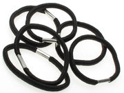 Thick Hair Elastics - Black