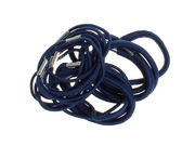 Pack of Navy Hair Elastics