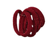 Burgundy Jersey Endless Snag Free Hair Bobbles