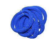 Royal Blue Jersey Endless Snag Free Hair Bobbles