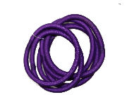 6 Purple Snag-Free Elastics