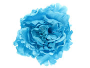 Light Blue Flower Hair Clip