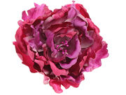 Rich Purple Flower Hair Clip / Corsage