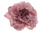 Molly Dark Pink Layered Flower Hair Clip / Brooch