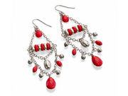 Fiorelli Coral Chandalier Earrings