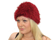 Winter Super Soft Burgundy Magical Hat