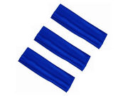 3 x Royal Blue Stretchy Headbands