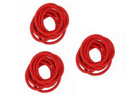 3 Packs of Red Snag-Free Elastics Hair Bobbles