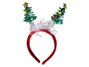 Christmas Tree Deeley Bopper Headband