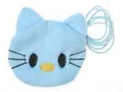 Blue Kitten Purse