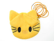 Yellow Kitten Purse