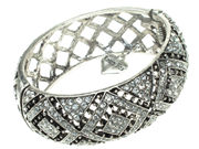 Crystal Aztec Cuff Bangle